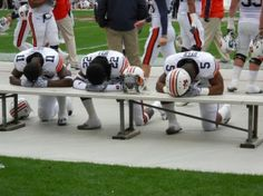 Taken before the 2010 Iron Bowl [Auburn: 28 Alabama: Football War, Auburn Football, Auburn Tigers, Alabama Football, Football Season, College Football, Football Fever, Football Players, Auburn Alabama