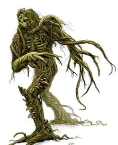 Monster 1 by on DeviantArt Forest Creatures, Wild Creatures, Woodland Creatures, Fantasy Creatures, Mythical Creatures, Tree Monster, Plant Monster, Creature Picture, Beast Creature