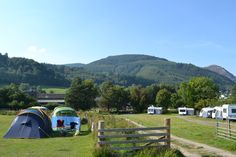 View towards Seat Howe and Barf - Lanefoot Farm Campsite - resized