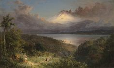 Frederic Edwin Church - View of Cotopaxi [1867]