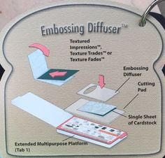 Sizzix Tips #9 of 13 Embossing Diffuser