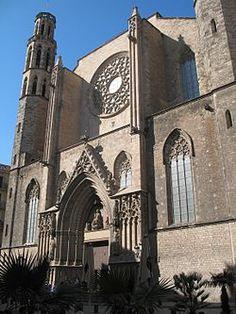 Basílica de Santa María del Mar. Barcelona