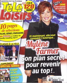 """Mylène Farmer  """"  Télé Loisirs  """""""