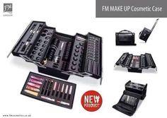 Trolley porta Make Up FM GROUP, indispensabile per tutte quelle incaricate che effettuano presentazioni di prodotti.