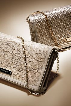 Burberry Rose Gold Clutches