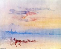 William Turner: Venecia, salida del sol