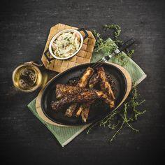 Sticky honey chili ribs — Ta Fram Det Bästa