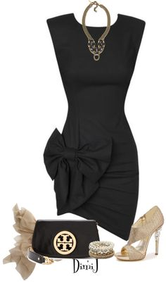 """Put a Bow on It!"" by dimij on Polyvore"