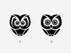 Guys I'm working on a logo for a new project, it must contain an owl. These are some of the options, which one do you prefer? do you have any suggestions?