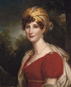 1810s Eléonore de Montmorency (1771-1828) married Alexandre, Eighth Duc de Rohan in 1785.