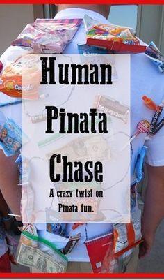 human pinata