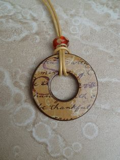 washer necklace ~ love this one!