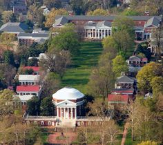 UVA is the only university in the U.S. to be designated a UNESCO World Heritage Site—and Thomas Jefferson chose its founding to be one of only three of his many accomplishments noted on his gravestone.