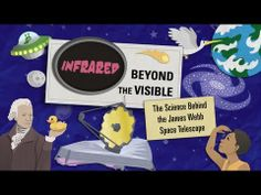 """Infrared light is invisible: What's it hiding? Hubble's Successor, the Webb Space Telescope, will find out. Watch """"Infrared: Beyond the Visible."""""""