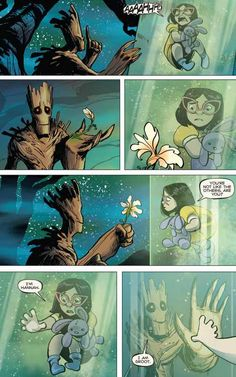 Post with 4182 votes and 104600 views. Tagged with , Storytime, , , ; Shared by hexachordalcombinatoriality. The Root of Groot Marvel Jokes, Marvel Funny, Marvel Dc Comics, Marvel Avengers, Captain Marvel, Cute Comics, Funny Comics, Groot Comics, Kawaii