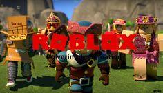 New 2017 ROBLOX Logo Wallpaper 2: Blocky Team Up by Meenit.deviantart.com on @DeviantArt