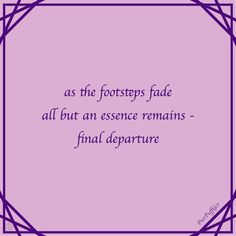 haiku 5-7-5s micro poems by Paul Douglas Lovell (@PowerpuffGeezer) https://scriggler.com/detailPost/story/64735 Our fast-paced lives leave little time to contemplate. These Micro Moments are designed to entertain in a few words, read them slowly and savour the essence. Be they ordinary or remarkable, they are all special in their simplicity. 078