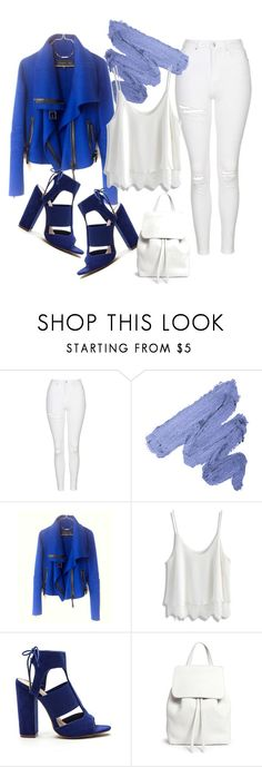 """""""blue"""" by wearitbabe on Polyvore featuring Topshop, Barbara Bui, Chicwish and Mansur Gavriel"""