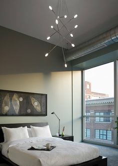 very cool modern chandelier for the bedroom lbl batons chandelier