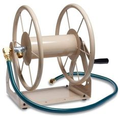 online shopping for Liberty Garden Multi-Purpose Steel Garden Wall/Floor Mount Hose Reel, Tan from top store. See new offer for Liberty Garden Multi-Purpose Steel Garden Wall/Floor Mount Hose Reel, Tan Garden Hose Storage, Garden Hose Holder, Water Hose Holder, Lawn And Garden, Garden Tools, Garden Water, Blue Garden, Indoor Garden, Range Cable