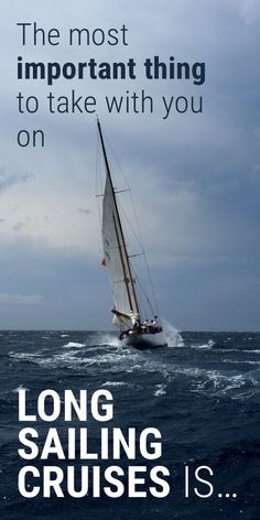 41 Sailboat Cruising Essentials for Long Trips - Improve Sailing Sailing Cruises, Sailing Catamaran, Sailing Trips, Sailing Gear, Sailing Books, Sailing Logo, Sailboat Living, Living On A Boat, Liveaboard Sailboat