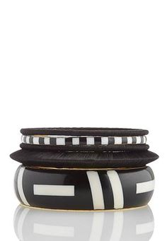 Cato Fashions 5 Piece Tribal Bangle Bracelet Set #CatoFashions
