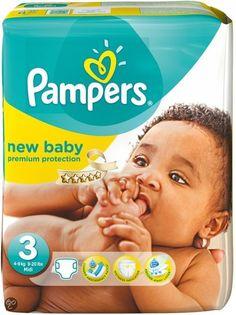 New baby luiers maat 3 (40/50% korting kruitvat, etos, AH)