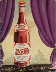 "old-ads-and-mags: "" Pepsi-Cola, anniversary, "" Pepsi Ad, Diet Pepsi, Cola Drinks, Fun Drinks, Beverages, Vintage Advertisements, Vintage Ads, Vintage Soft, Poster Vintage"