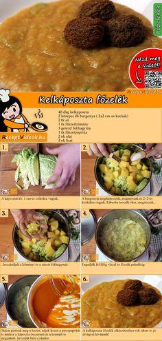 A kelkáposzta főzelék egy laktató, mégis gyors és olcsó étel, ami a maga egyszerűségében tökéletes ebéd a sűrű hétköznapokon! A Kelkáposzta főzelék recept videóját a kártyán levő QR kód segítségével bármikor megtalálod! :) #KelkáposztaFőzelék #Főzelék #Kelkáposzta #ReceptVideók #Recept