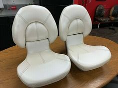 (Sponsored eBay) Boat Seats TEMPRESS ATTWOOD Centric 2 (2) SEATS PAIR Made in USA Fishing Boat Seats, Fishing Boats, Stone Texture, Pairs, Usa, How To Make, U.s. States