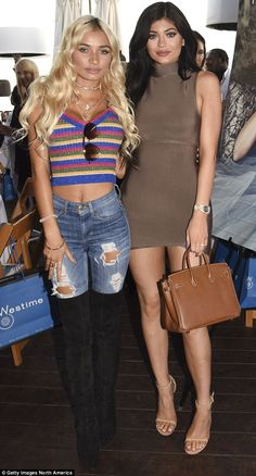 Kylie Jenner's best friend Pia Mia discusses their first sleepover