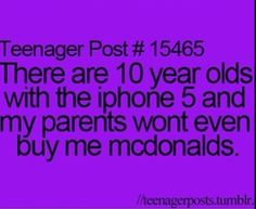 I'm 11 and I'm on a iPhone 5