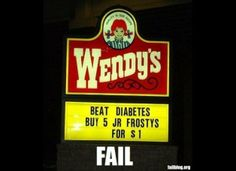 Frosties: the best cure for diabetes.