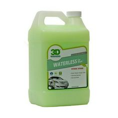 WATERLESS CAR WASH™ is our newest revolutionary soap less wash that works great on any paint surface. Waterless Car Wash Cleans, Polishes & Protects without using water and helps to keep your car clean and protected from airborne contaminants.