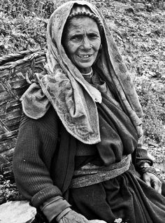 "500px / Photo ""an old garhwali women"" by jayanta roy"