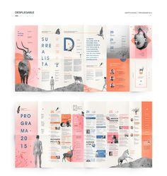 María Victoria Vecchio on Behance Leaflet Layout, Leaflet Design, Brochure Layout, Page Layout Design, Book Layout, Web Design, Editorial Design Layouts, Graphic Design Magazine, Magazine Layout Design
