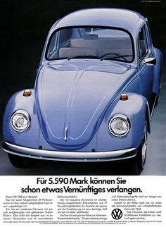VW Käfer 1200, 1973.