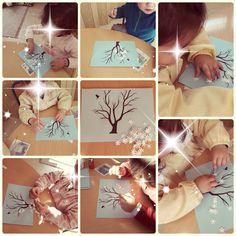 Actividades del invierno con niños de dos años