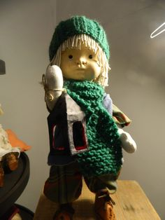 "13"" handmade doll"