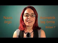 Nazo örgü ile asimetrik taş örme. Bölüm 7/7 - YouTube