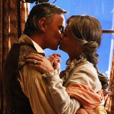 I don't know HOW they managed to turn Rumple and Belle into Carl and Ellie from Up but they did it