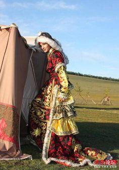 モンゴル衣装
