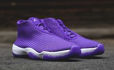 "#Jordan Future ""Purple"" #sneakers"