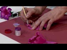 Jorge Rubicce - Orquídeas Esmeralda con goma eva - YouTube