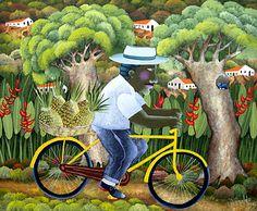 Bicyclist With Pineapples by Ivonaldo Veloso de Melo