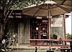 Pecan coffee- love this coffee and it's their best seller Gruene Coffee Haus - Great coffee and espresso based drinks, delicious smoothies, unique gifts and free wifi