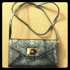 """sale INC Nwot clutch cross body in snake print Removable strap 45"""" long end to end. Use as hand clutch or a cross body. INC International Concepts Bags Crossbody Bags"""