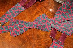 Extremely elegant bow tie with cummerbunds and they can be worn with tuxedos or dinner jackets. 60s