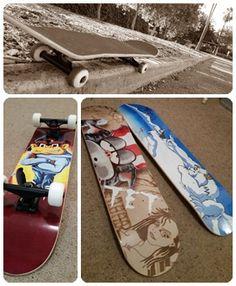 TET Skateboard Designs