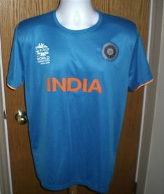 2016 Icc Cricket World Cup India Jersey World Twenty20 Jersey Youth Xl